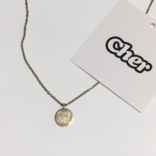 シェル(Cher)のcher×Laura lee jeweller♡イニシャル M(ネックレス)