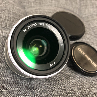 オリンパス(OLYMPUS)のOLYMPUS M.ZUIKO DIGITAL 25mm F1.8 単焦点(レンズ(単焦点))
