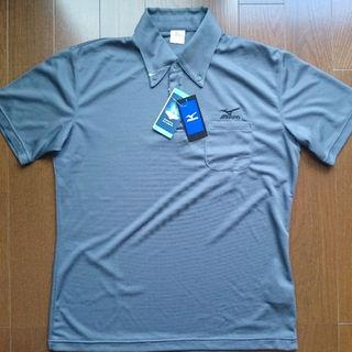 ミズノ(MIZUNO)のサンロクさん予約 MIZUNO 吸汗速乾素材 BDシャツ チャコール XLサイズ(シャツ)