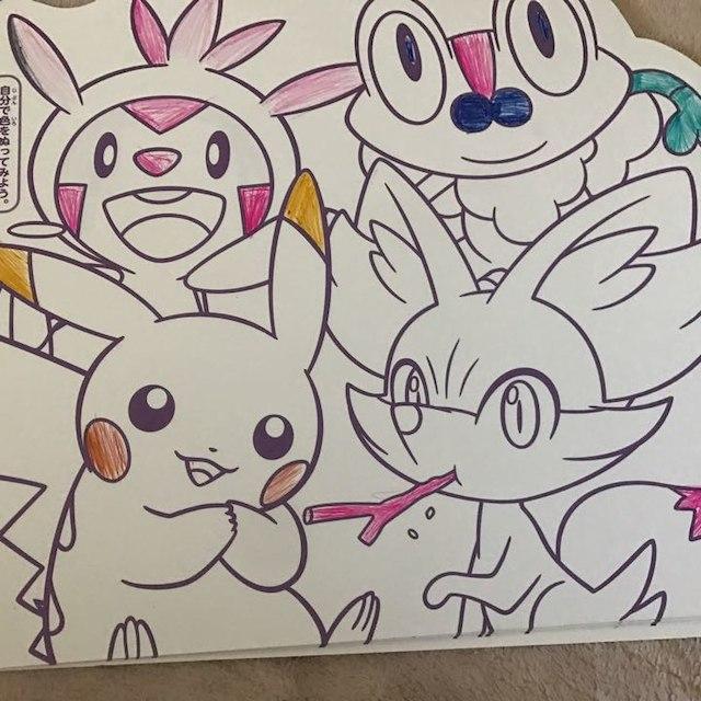 ポケモン塗り絵の通販 By ゆっきぃ8651s Shopラクマ
