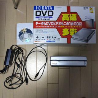 アイオーデータ(IODATA)のI-O DATE DVD-UN16R DVD DRIVE(PC周辺機器)