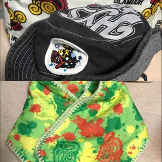 ヒステリックミニ(HYSTERIC MINI)のヒスミニ  ハット マフラー セット(帽子)