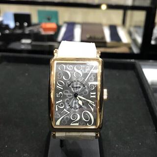 フランクミュラー(FRANCK MULLER)のフランクミュラークレイジーアワーズ最終価格美品★オーバーホール、磨き済(腕時計(アナログ))