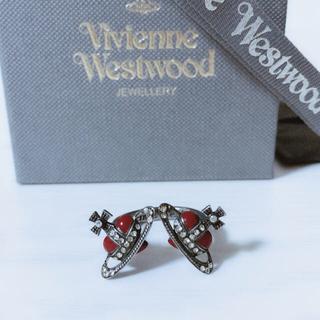 ヴィヴィアンウエストウッド(Vivienne Westwood)のVivienne Westwood DOUBLE HEARTED RING 9号(リング(指輪))
