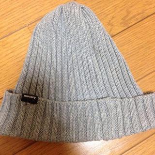 マウジー(moussy)のmoussy☆ニット帽(ニット帽/ビーニー)