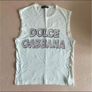 ドルチェアンドガッバーナ(DOLCE&GABBANA)のDOLCE&GABBANA タンクトップ (タンクトップ)