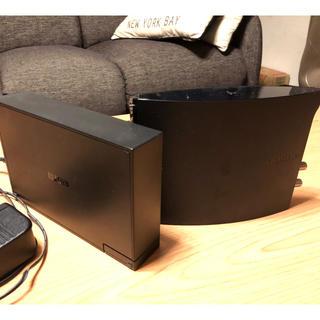 ナスネ(nasne)のSONY ナスネ 500GB & IODATA HDD 2TB(家庭用ゲーム本体)