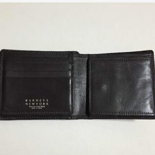 バーニーズニューヨーク(BARNEYS NEW YORK)のバーニーズ ニューヨーク 二つ折り財布(折り財布)
