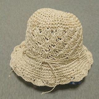 ムジルシリョウヒン(MUJI (無印良品))の無印良品★畳める麦わら帽子 54㎝(帽子)