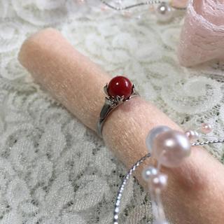赤珊瑚シルバーF リング(リング(指輪))