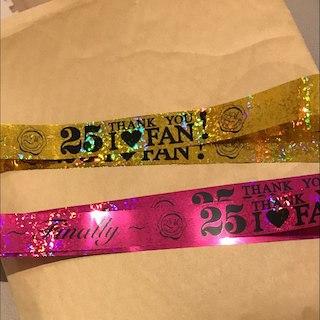 安室奈美恵 銀テープ 2種類(お笑い芸人)