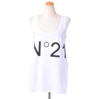 ヌメロウーノ(NUMERO UNO)のN°21  ヌメロ ヴェントゥーノ  ロゴタンクトップ☆Tシャツ(Tシャツ(半袖/袖なし))