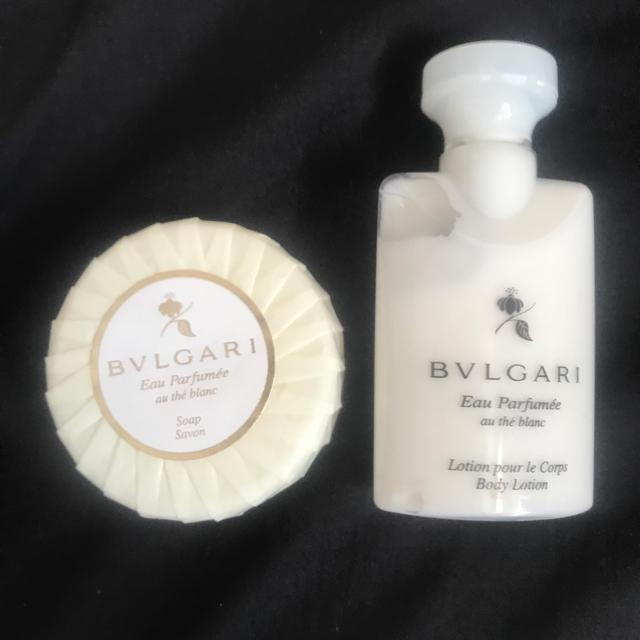 BVLGARI(ブルガリ)のブルガリ 石鹸 ボディクリーム コスメ/美容のボディケア(ボディソープ / 石鹸)の商品写真