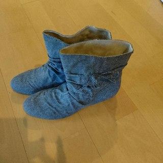 今月で出品取消スプリングショートブーツ sizeXL(ブーツ)