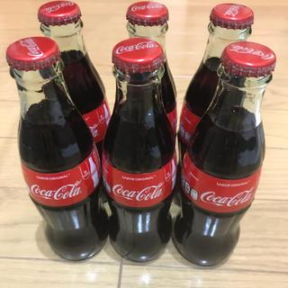 コカコーラ(コカ・コーラ)の【未開封・新品・飲料可】メキシコ産 瓶メキシカンコーラ 6本セット(その他)