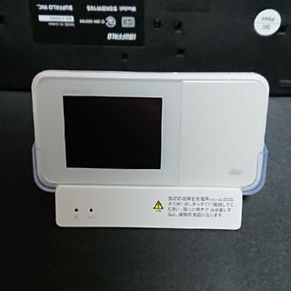 エーユー(au)のSpeed Wi-Fi NEXT W03+クレードル(PC周辺機器)