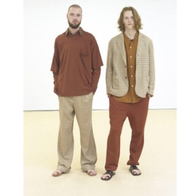 "COMOLI(コモリ)のAURALEE ""SILK SUMMER TWEED JACKET""  メンズのジャケット/アウター(テーラードジャケット)の商品写真"