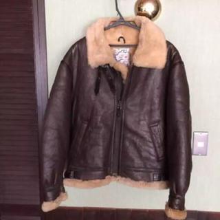テラプラナ(TERRA PLANA)のTERRA australis B3 フライトジャケット M ムートン羊革(フライトジャケット)
