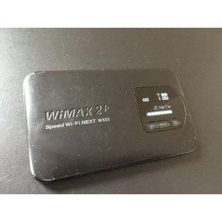 エヌイーシー(NEC)の【中古】【処分】Speed Wi-Fi NEXT WX02 本体のみ(PC周辺機器)