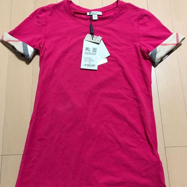BURBERRY(バーバリー)のBurberry バーバリー 定番 チェック柄 半袖Tシャツ XS レディースのトップス(その他)の商品写真