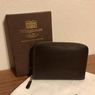 ホワイトハウスコックス(WHITEHOUSE COX)のホぺこ様専用 ワイトハウスコックス ラウンドジップ二つ折り財布 (伊勢丹限定)(折り財布)