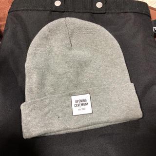 オープニングセレモニー(OPENING CEREMONY)のニット帽(ニット帽/ビーニー)