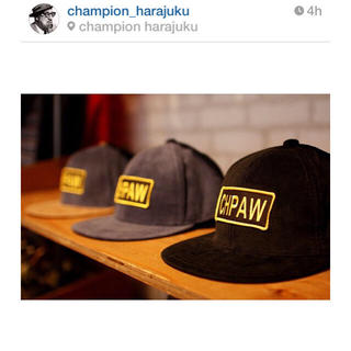 チャンピオン(Champion)の美品♡champion cap(キャップ)