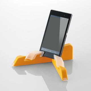 エレコム(ELECOM)のエレクック 組み合わせマルチスタンド オレンジ 新品未開封 ELECOM (PC周辺機器)