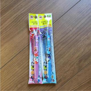 アンパンマン(アンパンマン)のフリクション3色ペン 2本セット ドキンちゃん バイキンマン(ペン/マーカー)