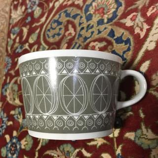 アラビア(ARABIA)の北欧🇫🇮アラビア  スーザン  グレー カップ(グラス/カップ)