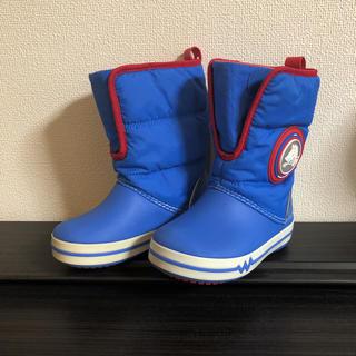 クロックス(crocs)のクロックス スノーブーツ 長靴 c9 16.5 crocs(長靴/レインシューズ)