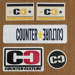 カウンターカルチャー(Counter Culture)のカウンターカルチャー ステッカー(サーフィン)