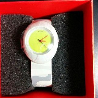 【新品】アレッシィ 腕時計 グレー