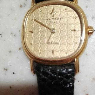 ウォルサム(Waltham)のウォルサム K18 レディース(腕時計)