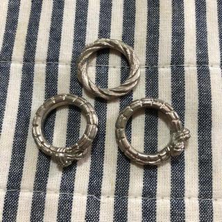 ルシェルブルー(LE CIEL BLEU)のルシェルブルー  シルバーリングセット(リング(指輪))