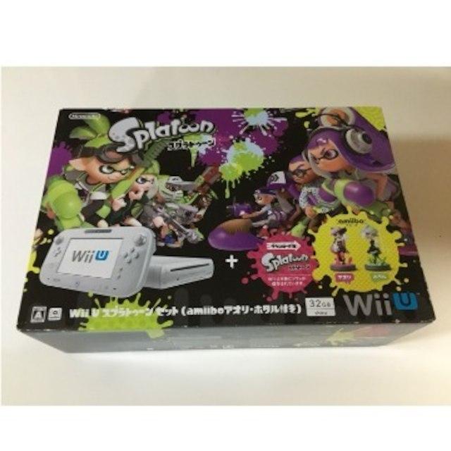 Wii U(ウィーユー)の新品未使用 Wii U スプラトゥーン セット amiibo アオリ・ホタル付 エンタメ/ホビーのテレビゲーム(家庭用ゲーム本体)の商品写真