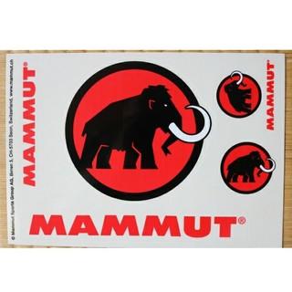 マムート(Mammut)のMAMMUT ステッカー(登山用品)