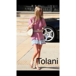 トラニ(Tolani)のトラニ Trani ワンピース (ミニワンピース)