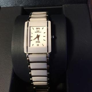 テクノス(TECHNOS)のTECHNOS 腕時計 レディース 白(腕時計)