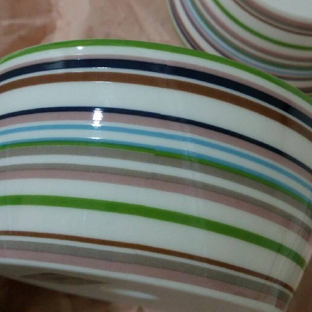 iittala(イッタラ)のイッタラ オリゴ ベージュ DESSERT BOWL  0.25L 5個 未使用 インテリア/住まい/日用品のキッチン/食器(食器)の商品写真
