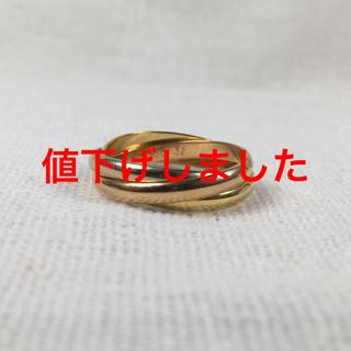 カルティエ(Cartier)の【Cartier】カルティエ トリニティリングSM(リング(指輪))