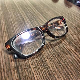 ユニクロ(UNIQLO)の伊達眼鏡 ユニクロ べっ甲柄(サングラス/メガネ)
