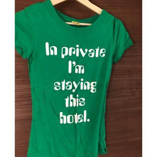 スライ(SLY)のSLY Tシャツ グリーン(Tシャツ(半袖/袖なし))
