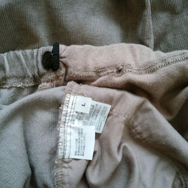MUJI (無印良品)(ムジルシリョウヒン)の妊婦服 マタニティー 無印良品 パンツ キッズ/ベビー/マタニティのマタニティ(マタニティボトムス)の商品写真