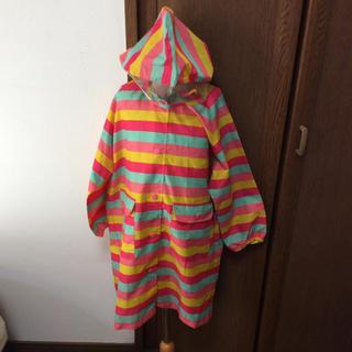 オレンジボンボン(Orange bonbon)のレインコート ランドセル対応 120cm 女の子 オレンジボンボン 入学(レインコート)