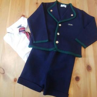 セリーヌ(celine)のセリーヌ フォーマル上下セット 子供服80サイズ(セレモニードレス/スーツ)