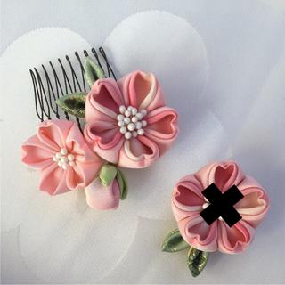 専用です。  ♯162 正絹 桜 髪飾り ピンク系(その他)