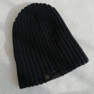 アングリッド(Ungrid)のアングリッド 黒ニット帽(ニット帽/ビーニー)