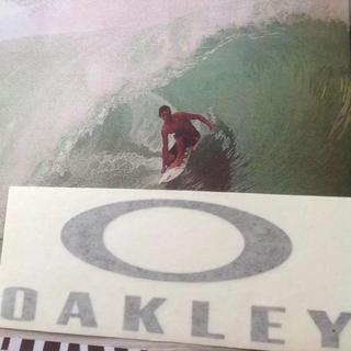 オークリー(Oakley)のOAKLEYオークレーUS限定LOGOアイコンmidダイカットステッカー(サーフィン)
