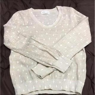 ツモリチサト(TSUMORI CHISATO)のまる様専用    ツモリチサト    薄手 セーター 日本製(ニット/セーター)